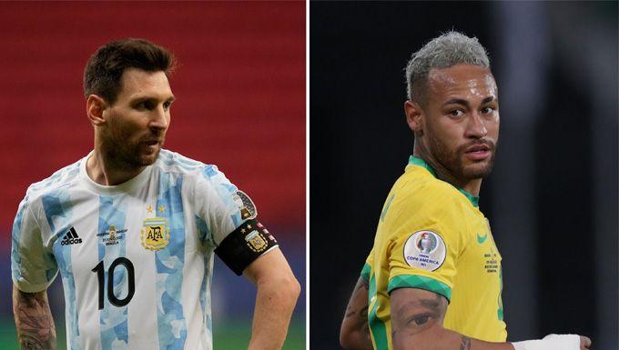 ทนไม่ไหว! เนย์มาร์จวกแฟนบอลบราซิลหลังมีคนอยากเห็นอาร์เจนฯคว้าแชมป์โกปาฯ