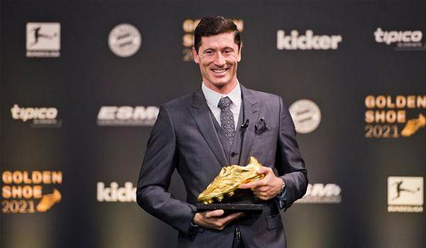 ตามคาด! เลวาน ซิวรางวัลรองเท้าทองคำปี 2020/21